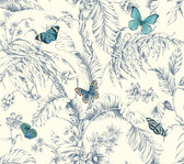 AF2026-Ashford Toiles Papillon Wallpaper