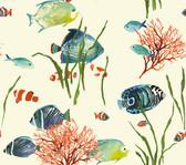 AT7001 - Tropics Tropical Reef Wallpaper