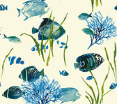 AT7002 - Tropics Tropical Reef Wallpaper