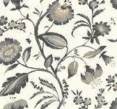 AT7018 - Tropics Watercolor Jacobean Wallpaper