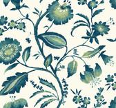 AT7020 - Tropics Watercolor Jacobean Wallpaper