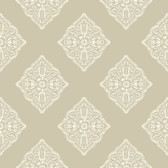 Ashford House AT7026 - Tropics Henna Tile Wallpaper Beige