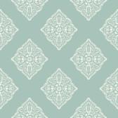 AT7028 - Tropics Henna Tile Wallpaper