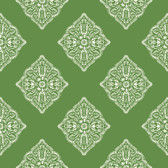 Ashford House AT7029 -  Tropics Henna Tile Wallpaper Green