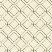 Ashford House AT7042 - Tropics Diamond Bamboo Wallpaper Grey