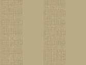 Ashford House AT7085 - Tropics Grasscloth Stripe Wallpaper Tan