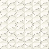 Ashford House SW7418 - Frances Wallpaper Silver