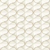 Ashford House SW7419 - Frances Wallpaper Gold