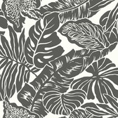 Ashford House SW7433 - Valdivian Wallpaper Black