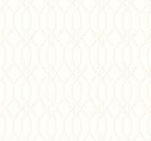 Ashford House SW7500 - Garden Pergola Wallpaper White
