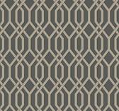 Ashford House SW7502 - Garden Pergola Wallpaper Gunmetal
