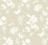 Ashford House SW7516 - Scenic Vines Wallpaper Neutral