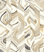CM3309 -  Agate Stripe Wallpaper - Neutral