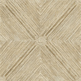 Coastal Calm CM3332 - Dimensional Diamond Wallpaper Sand
