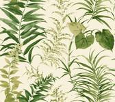 Coastal Calm CM3350 - Palms Wallpaper Cream