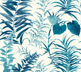 CM3354 -  Palms Wallpaper - Blue