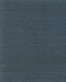 Coastal Calm VG4405 - Plain Grass Wallpaper Indigo