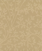 Leaf Vine Wallpaper TN0025 - Gold