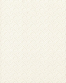 Greek Key Wallpaper TN0064 - Ivory