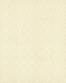 TN0065 -  Greek Key Wallpaper - Yellow