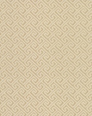 Greek Key Wallpaper TN0067 - Gold