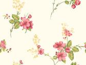 Casabella JG0689  Apple Blossom Vine Wallpaper