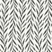 Magnolia Home PSW1017RL - Willow Peel and Stick Wallpaper Black