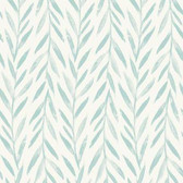 Magnolia Home PSW1019RL - Willow Peel and Stick Wallpaper Blue