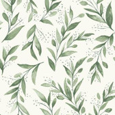 Magnolia Home PSW1001RL - Olive Branch Peel and Stick Wallpaper Olive Grove