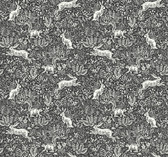 Rifle Paper RI5105 - Fable Wallpaper Black