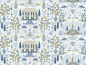 Rifle Paper RI5108 - Camont Wallpaper Indigo