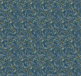 Rifle Paper RI5126 - Tapestry Wallpaper Indigo
