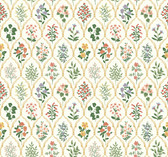 Rifle Paper RI5130 - Hawthorne Wallpaper Cream