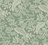 Rifle Paper RI5140 - Canopy Wallpaper Sage