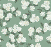 Rifle Paper RI5145 - Hydrangea Wallpaper Jade