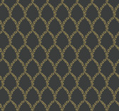 Rifle Paper RI5177 - Laurel Wallpaper Gold/Black