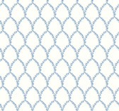 Rifle Paper RI5180 - Laurel Wallpaper Blue