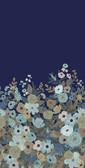 Rifle Paper RI5191M - Garden Party Mural Wallpaper Navy