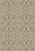 2827-4501 Rosenvinge Light Brown Ironworks Wallpaper