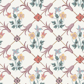 2827-4504 Tessin Multicolor Floral Geometric Wallpaper