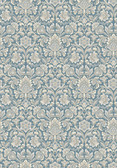 2827-4524 Foglavik Slate Damask Wallpaper