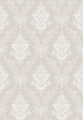 2827-4533 Sofia Light Grey Damask Wallpaper