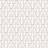 2827-4537 Nora Light Grey Ogee Wallpaper