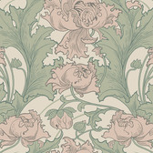 2827-4539 Siri Rose Floral Wallpaper