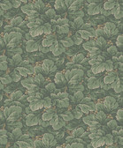 2827-4544 Waldemar Green Foliage Wallpaper