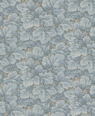 2827-4545 Waldemar Light Blue Foliage Wallpaper