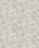 2827-4546 Waldemar Grey Foliage Wallpaper