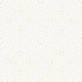 2827-7171 Marrakech Cream Medallion Wallpaper