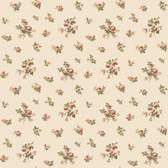 Casabella JG0766  Mini Rose Toss Wallpaper