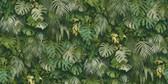 2979-37280-2 Luana Green Tropical Forest Wallpaper